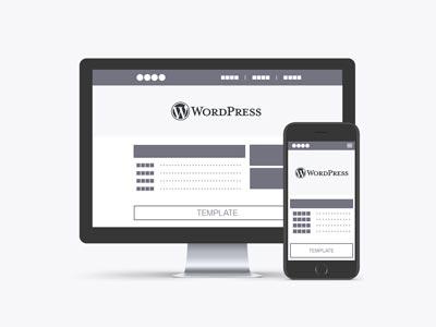 WordPress テンプレートプラン